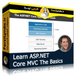 لیندا _ آموزش اصول اولیه ASP.NET Core MVC (با زیرنویس فارسی AI)