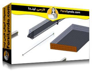 لیندا _ آموزش سالیدورکز: مدلسازی پوسته و میله در FEA (با زیرنویس فارسی AI)