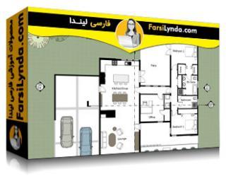 لیندا _ آموزش اسکچاپ برای معماری : طرح بندی (با زیرنویس فارسی AI)